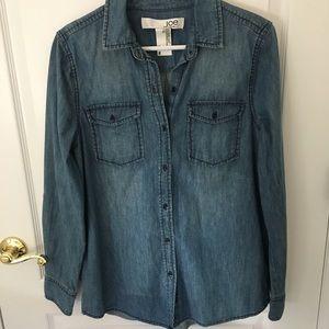 Joe Fresh Denim Shirt (NWOT)